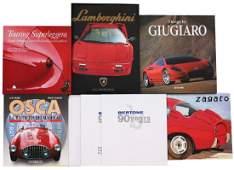 Automobilia Mixed lot with 6 books Italian