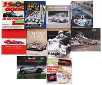 Automobilia Mixed lot with 10 books subject motor