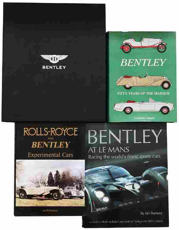 Bentley Mixed lot with 4 books