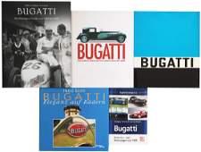 Bugatti Mixed lot with 5 books