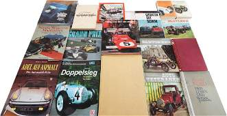 Buch 17 books on the subject of automobiles