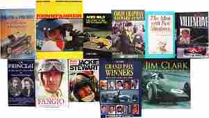 Buch 10 books on the subject of racing driver