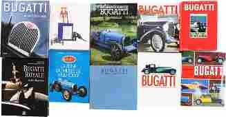 Bugatti 10 books