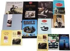 Bugatti 13 books