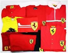 Ferrari 10-pieces clothing