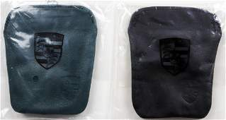 Porsche 2 x  911 Key case leather from the 80s