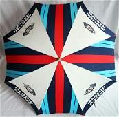 Porsche Umbrella Martini Racing from the 70s