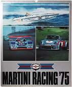 Porsche Calendar Martini Racing 1975