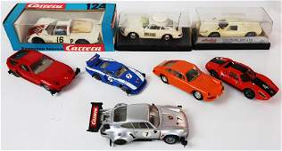 Porsche 8 Slotcar-Racer by Carrera and Stabo