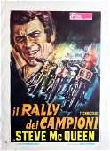 Steve Mc Queen Movie poster 'Il Rallye dei Campioni con