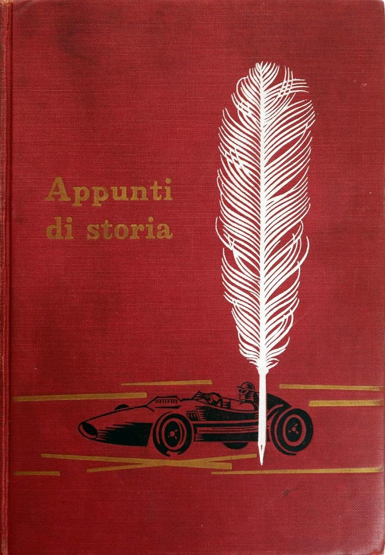Ferrari Book 'Appunti di storia!' with dedication by