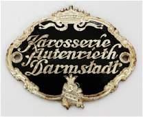 Karosserie Autenrieth Darmstadt Original coachwork