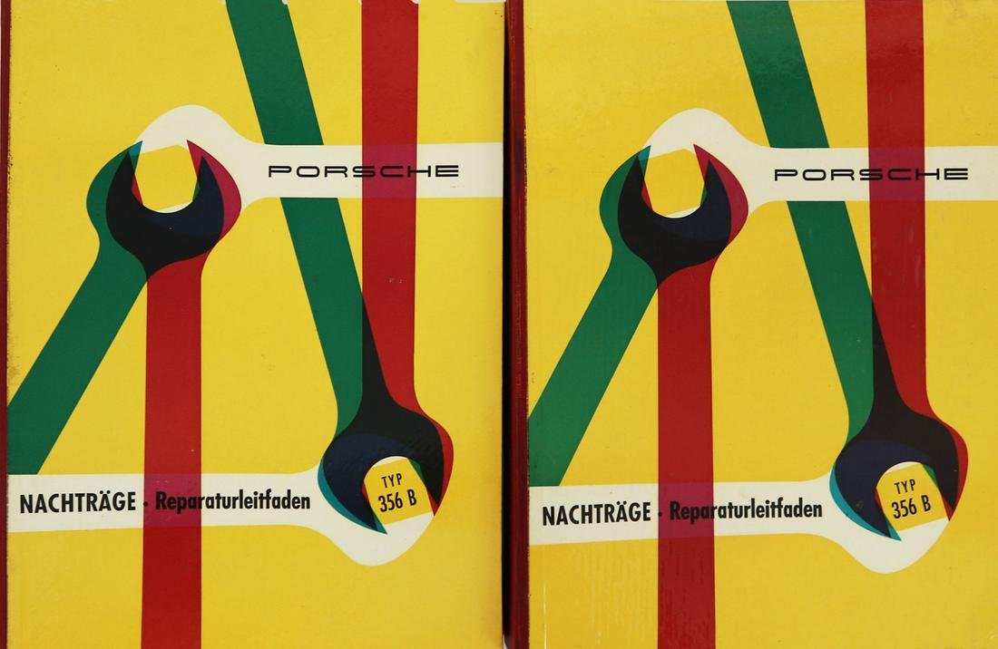 Porsche 2 x supplements repair guide type 356 B / C