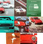 Porsche 8 brochures from the 70s  80s Porsche 911