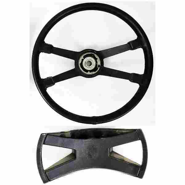 Porsche Leather steering wheel for F-model