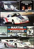Porsche Poster Martini Racing Saison 1976