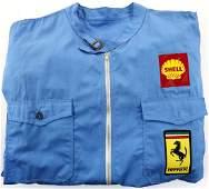 Ferrari Formula 1 mechanic racing suit from the mid 60s