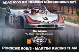 Porsche Poster Porsche 9083  Martini Racing Team