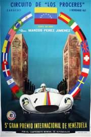 Poster '3° Gran Premio Internacional de Venezuela' 3