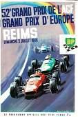 Rennprogramm '52e Grand Prix de l´ACF Reims 1966'