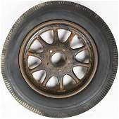 Automobilia Rim with Semperit tyres