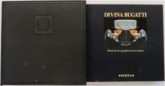 Bugatti Book 'Divina Bugatti - Storia di un capolavoro