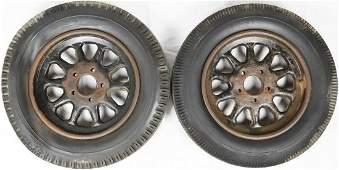 Kronprinz 2 rims with Semperit tyres