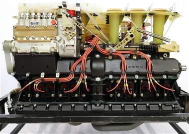 Porsche 5 litres Porsche 917 aspirated engine, ready to