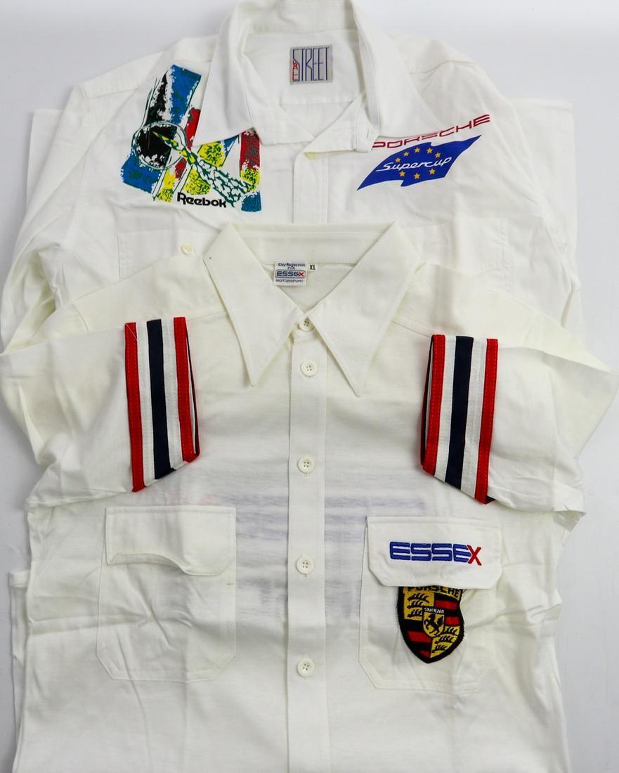 Porsche 2 team shirts from the 80s