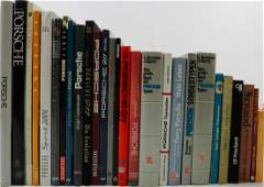 Porsche 27 books from the 50-2000s