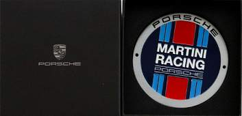 Porsche Limited badge Martini Racing