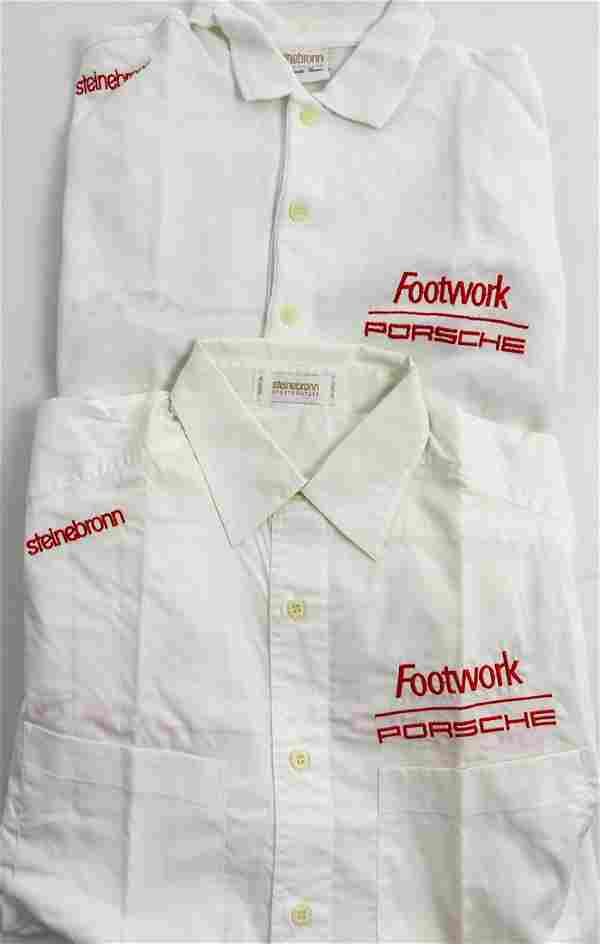 Porsche Original team shirts and polo shirt 'Footwork