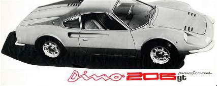 Ferrari Original design by Ferrari for the Dino 206 GT