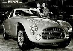 Ferrari Factory photo postcard Modena Ferrari Italia