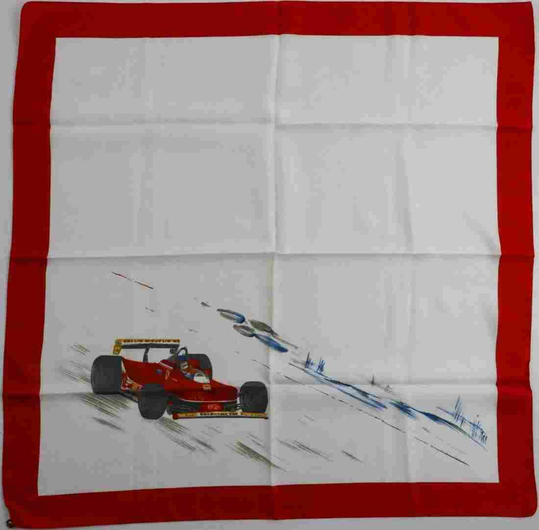 Ferrari Silk scarf from the 80s