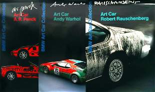 BMW 7 posters 'BMW Art Car Collection'