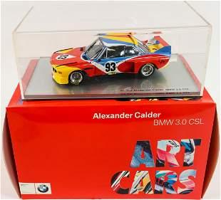 BMW Model car 'Art Car Alexander Calder BMW 3.5 CSL'