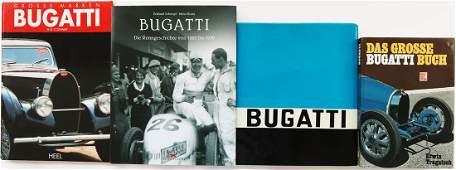 Bugatti 4 books from the 80s / 90s