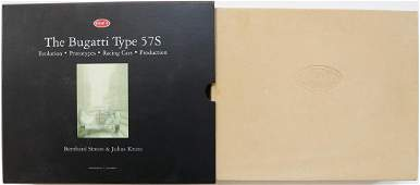 Bugatti Book 'The Bugatti Type 57S' from 2003
