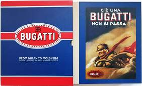 Bugatti Book 'From Milan to Molsheim' by Hucke and