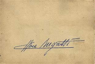Bugatti Photo album 'Ettore Bugatti' from the 30s