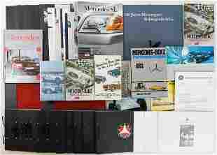 Mercedes-Benz 50 parts books / sales brochures /
