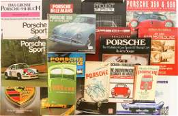 Porsche 16 books from the 50s-2000s