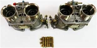 Porsche 2 x Weber 40 IDF double carburetor for type 356