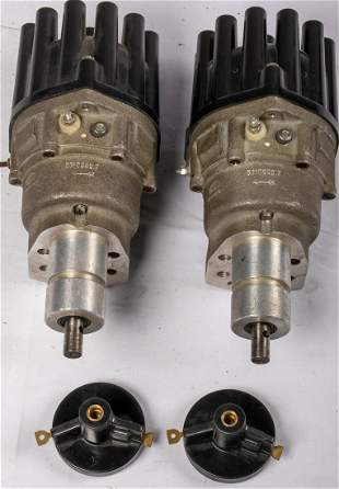 Porsche 2 x ignition distributor for type 917