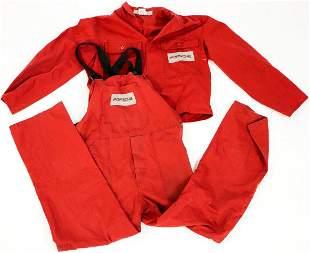 Porsche 2 parts mechanic suit / factory clothing