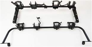 Porsche 2 parts ski rack for engine hood type 911 G
