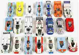 Porsche 20 model cars racing