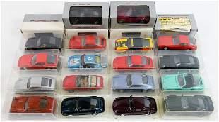 Porsche 22 model cars