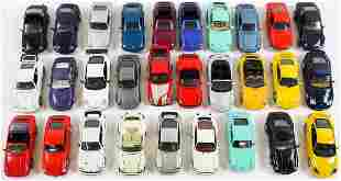 Porsche 29 model cars 911 F model - production series